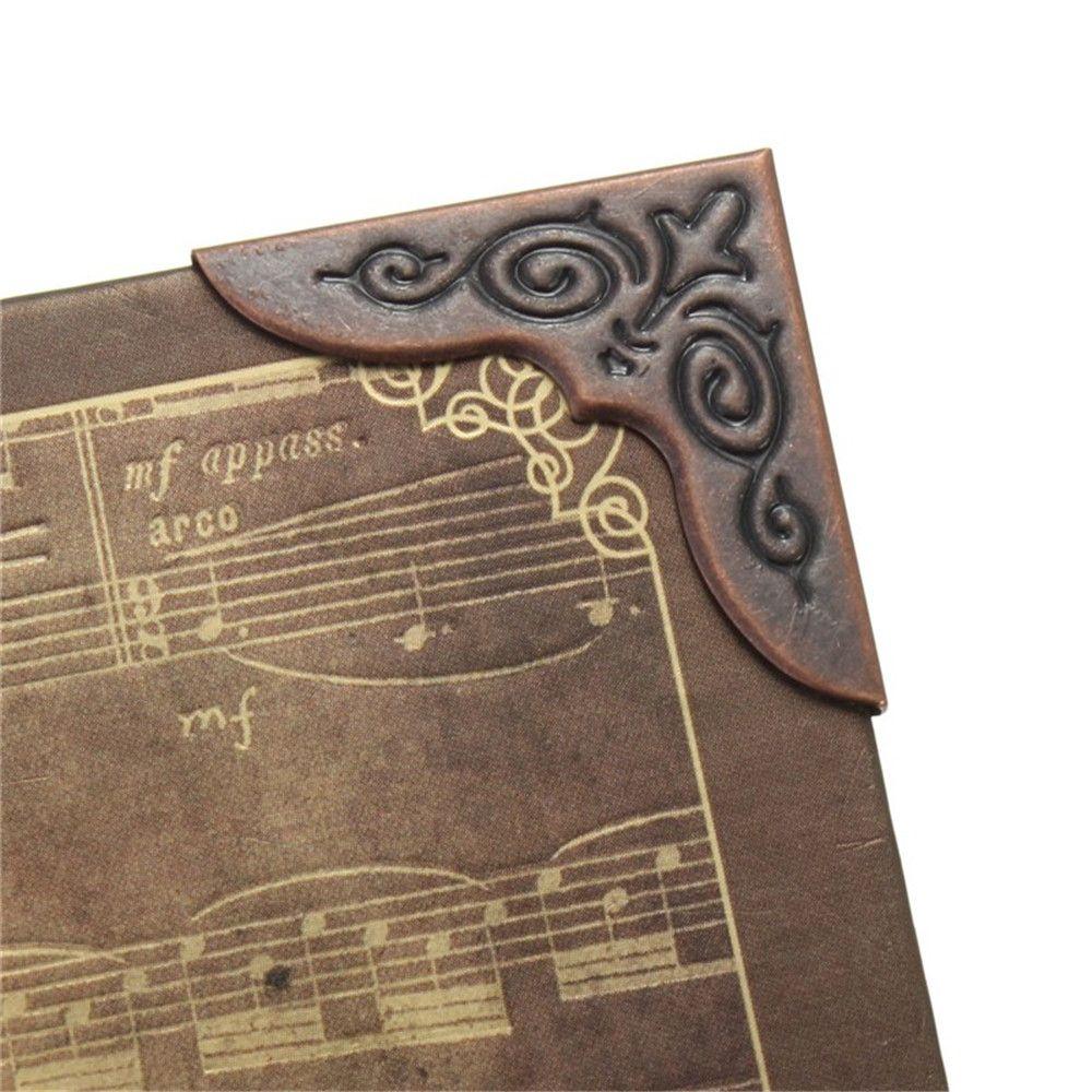 1PCS Metal Book Corner Protectors Scrapbooking Folder Albums Big 30x30mm