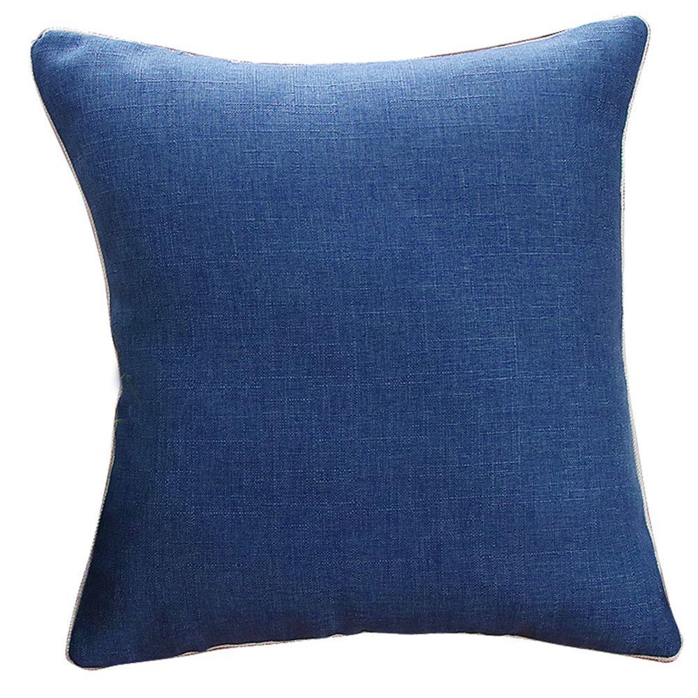 Weina Deep Blue Hold Pillow