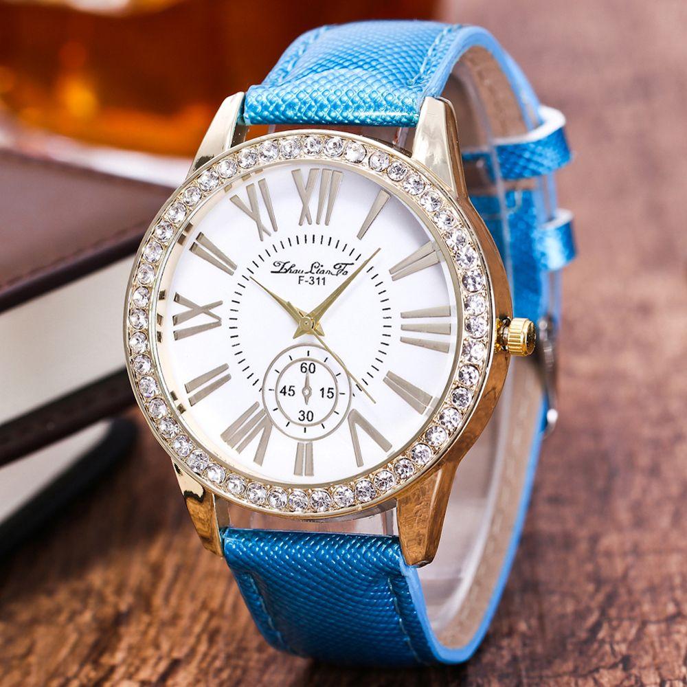 ZhouLianFa New Outdoor Fashion Luxury Diamond Ladies Quartz Watch