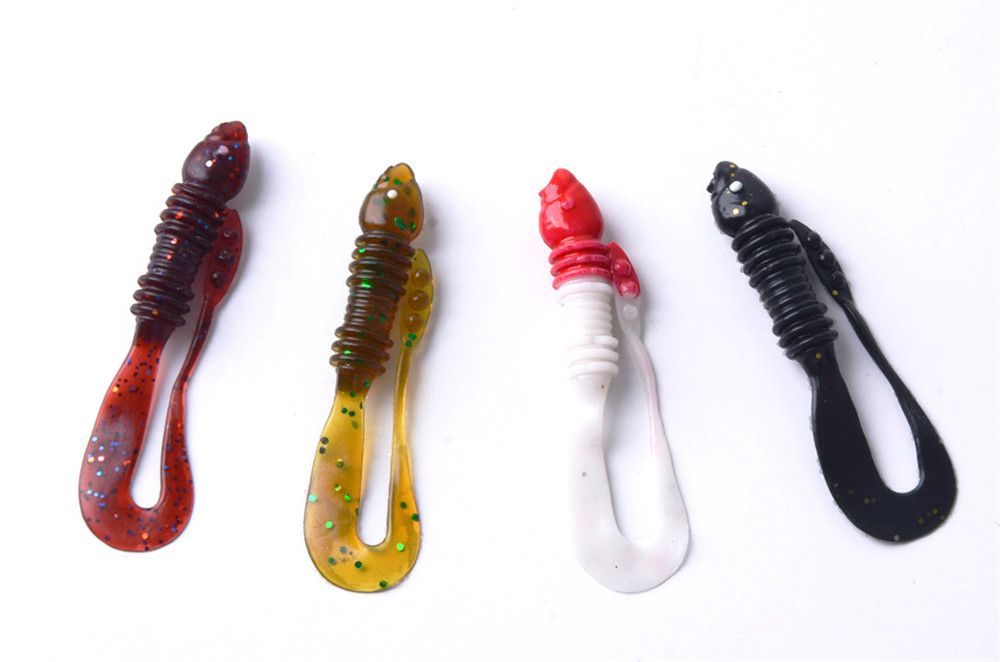 Soft Fishing Lure  Artificial Fake Bait 20PCS/LOT 1G 5.5CM