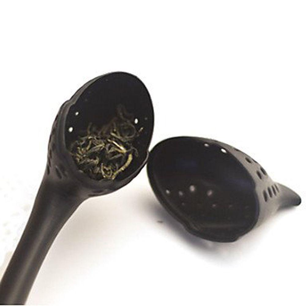 Swan Shaped Teaspoon Tea Infuser Filter Strainer