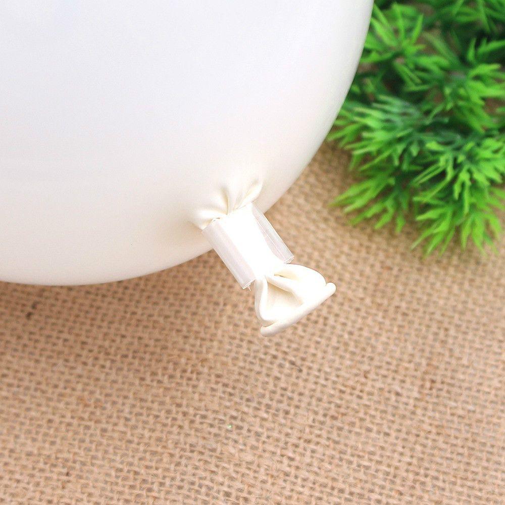 100PCS Balloons Sealing Clip Ballon Buttons Clips Wedding/Birthday/Christmas Party Decoration Supplies