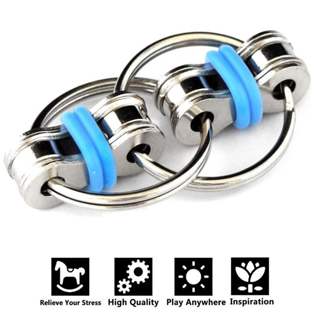 5 colors Creative Bike Chain Fidget Toy for Autism ADHD Stress