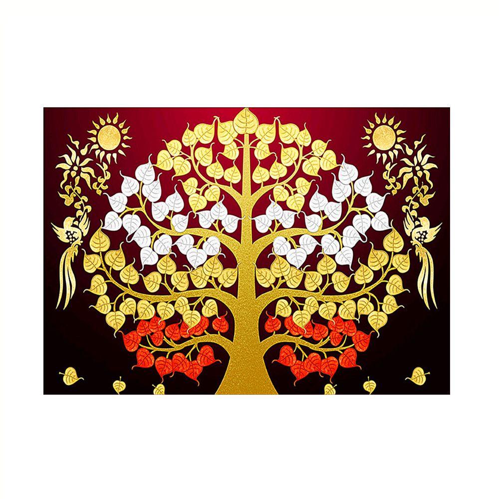 Naiyue 9833 Trees Print Draw Diamond Drawing