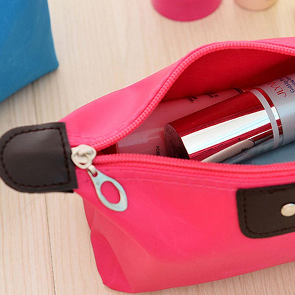 Female Cosmetic Bag Cartoon Cute Large Capacity Carrying Case Travel Portable Storage Bag