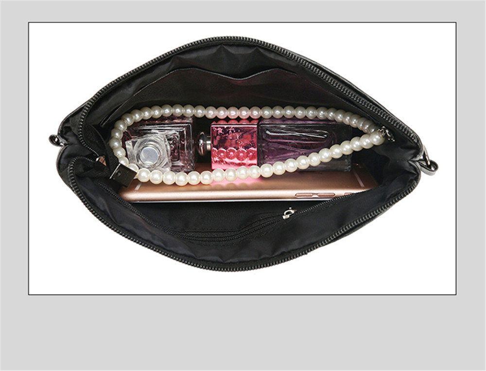 Sheepskin Stitching Handbags Shoulder Bag Messenger Bag Shoulder Clutch