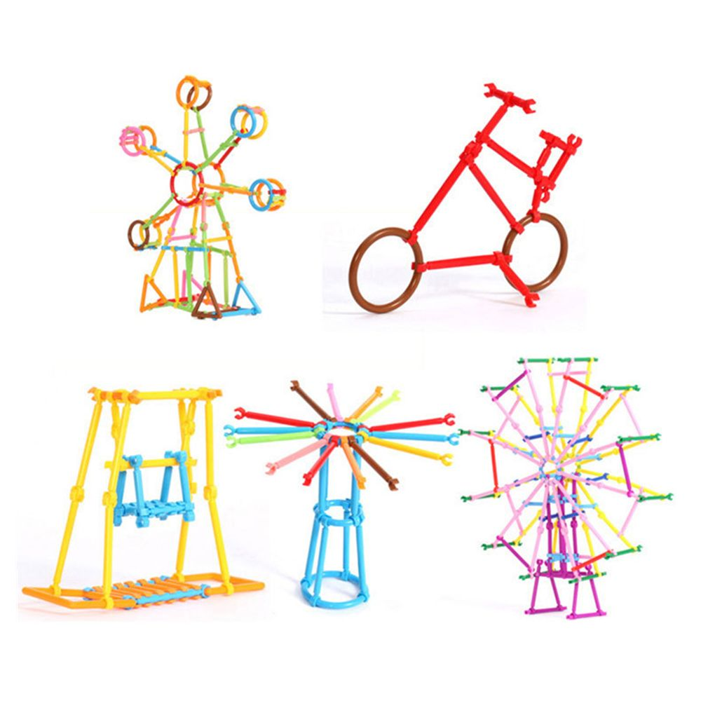 Magic Assembling  Stick  Kindergarten Early Childhood Education Game  Cleverness Building Blocks Toy