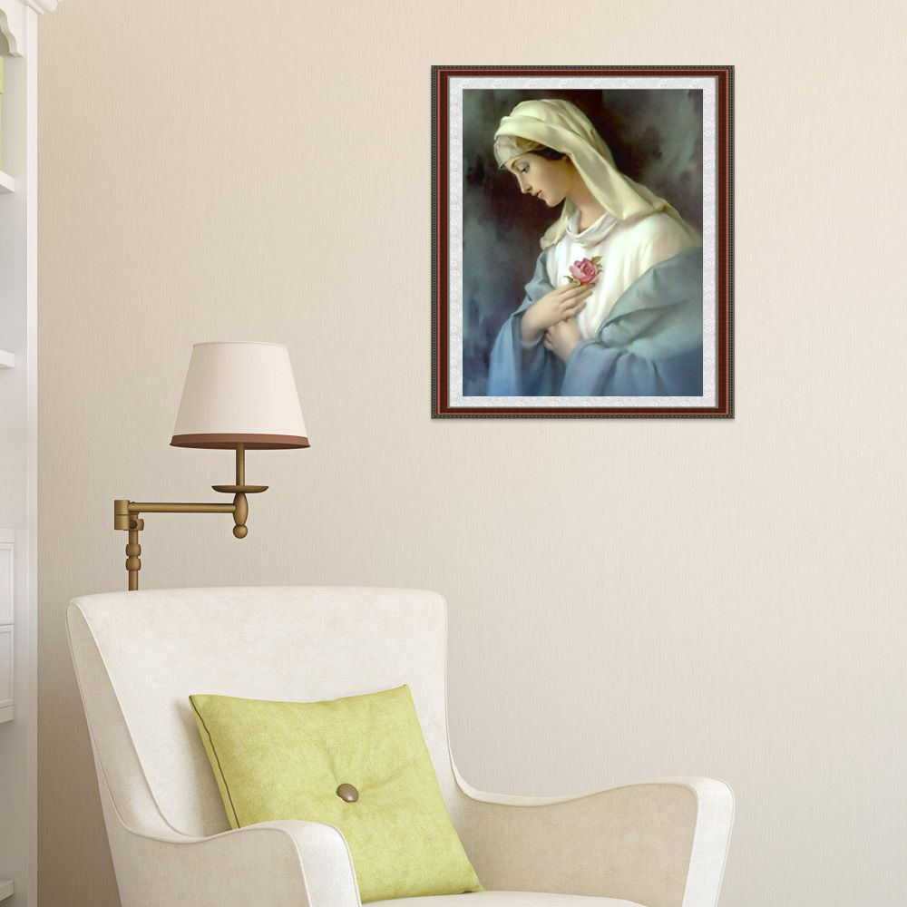 Naiyue K015 Virgin Mary Print Draw Diamond Drawing