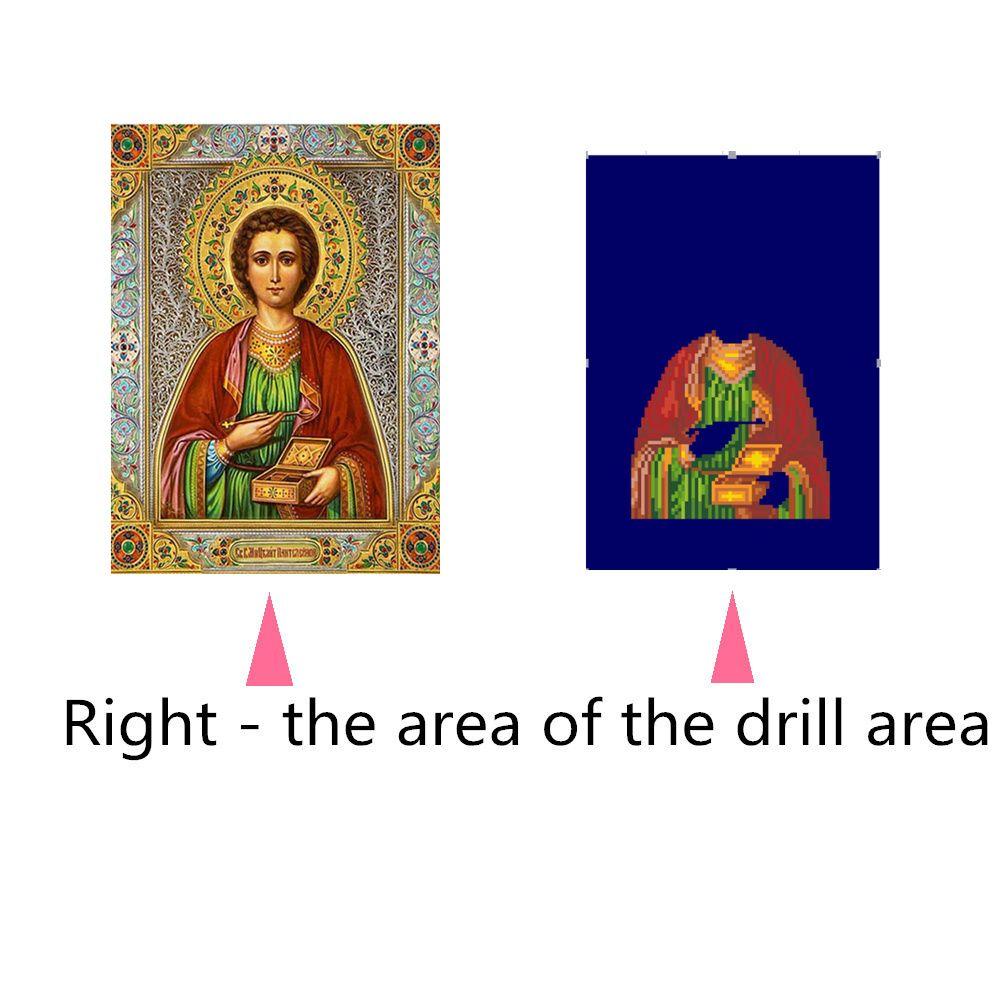 Naiyue 9392 Religious Print Draw Diamond Drawing