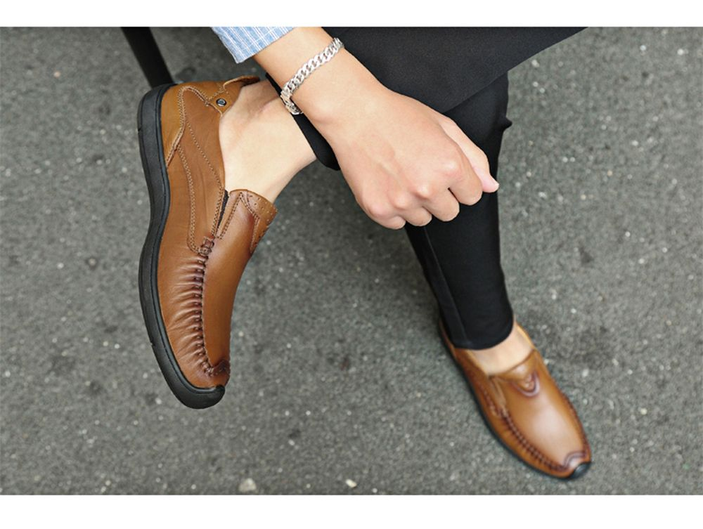 Hand Made Slip on Leather Shoes