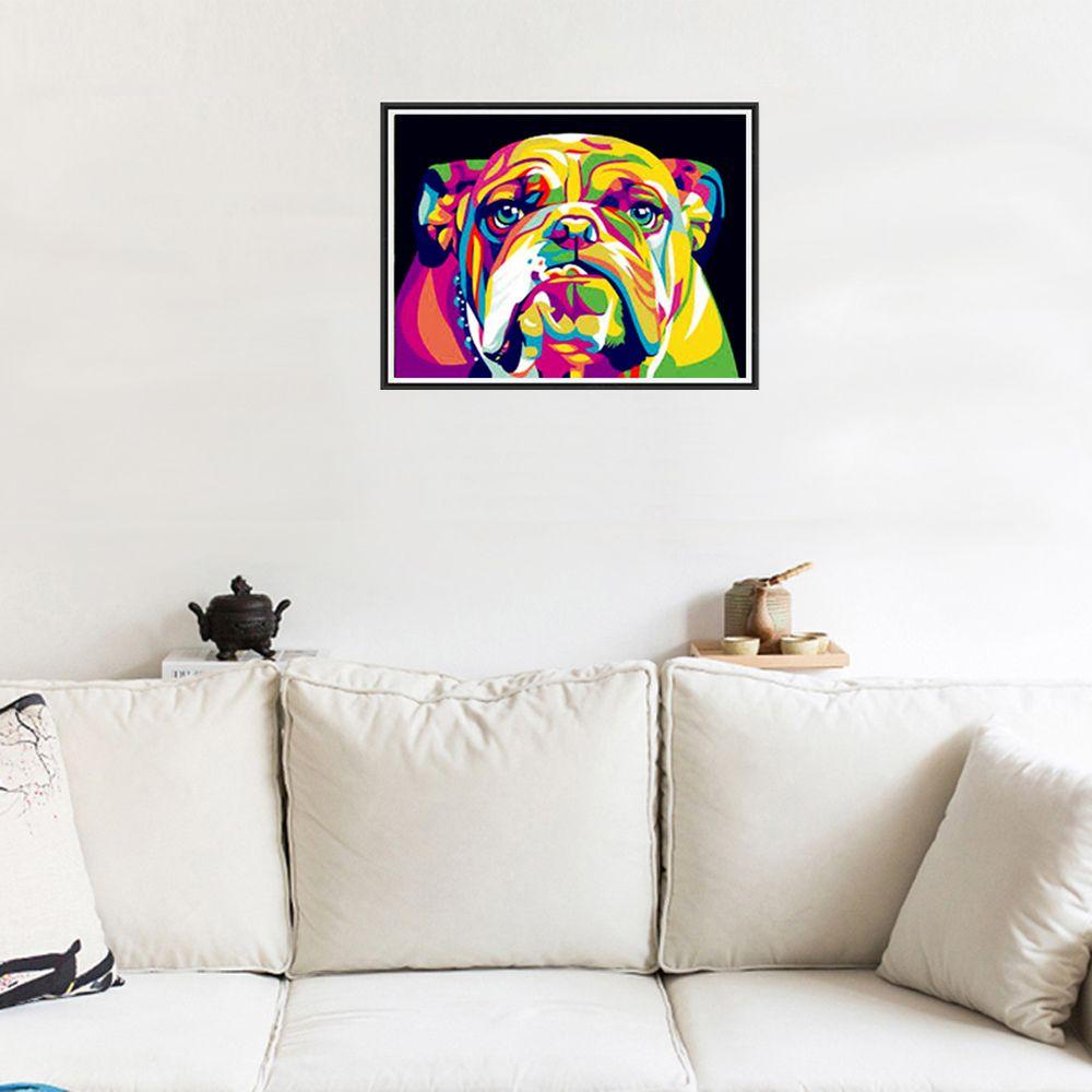 Naiyue 7111 Color Dog Print Draw Diamond Drawing