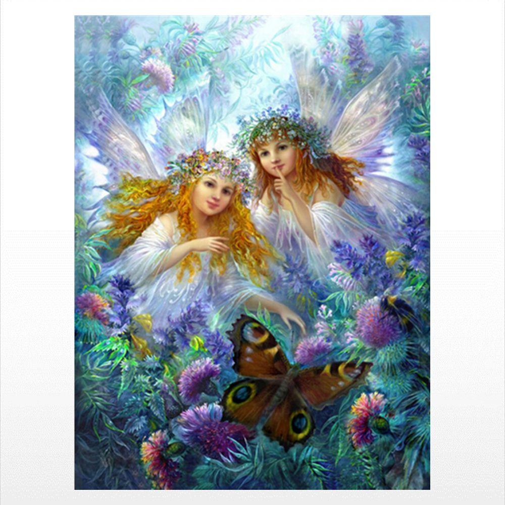 Naiyue 9718 Angels Print Draw Diamond Drawing