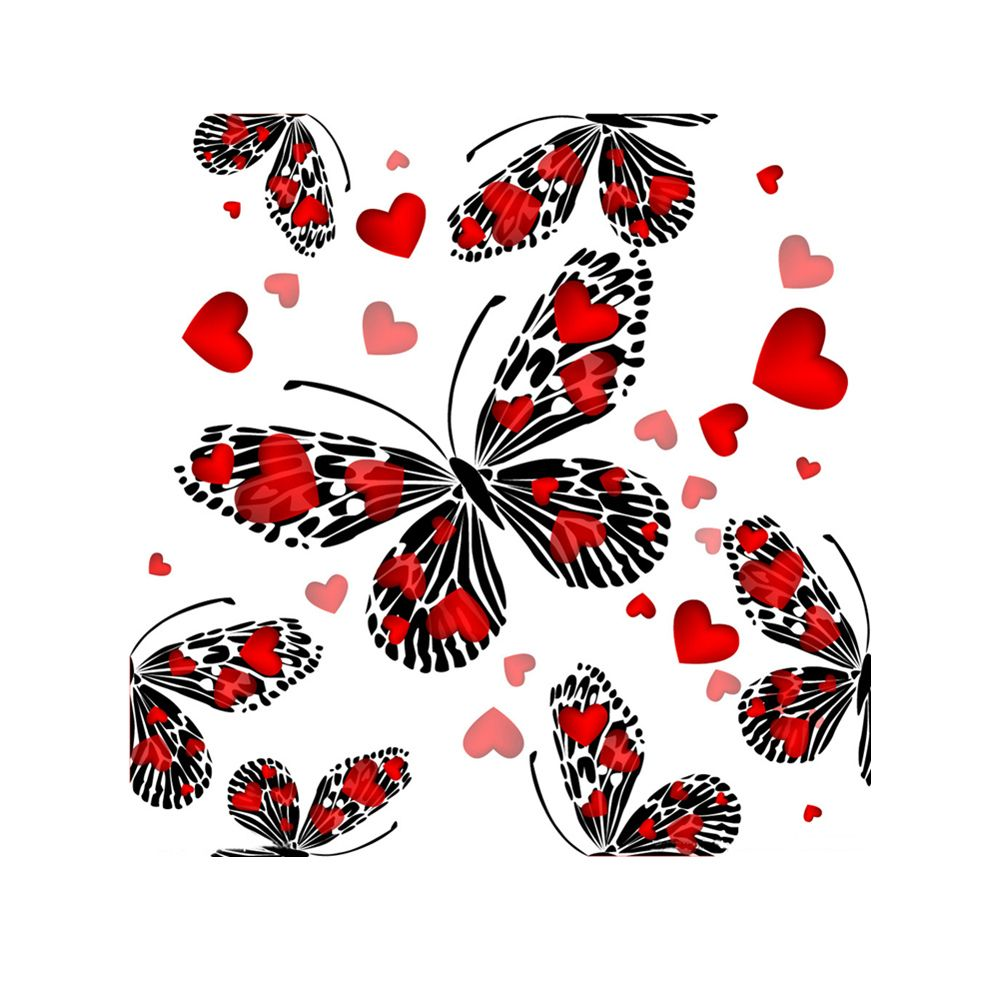 Naiyue 7121 Butterfly Four Print Draw Diamond Drawing