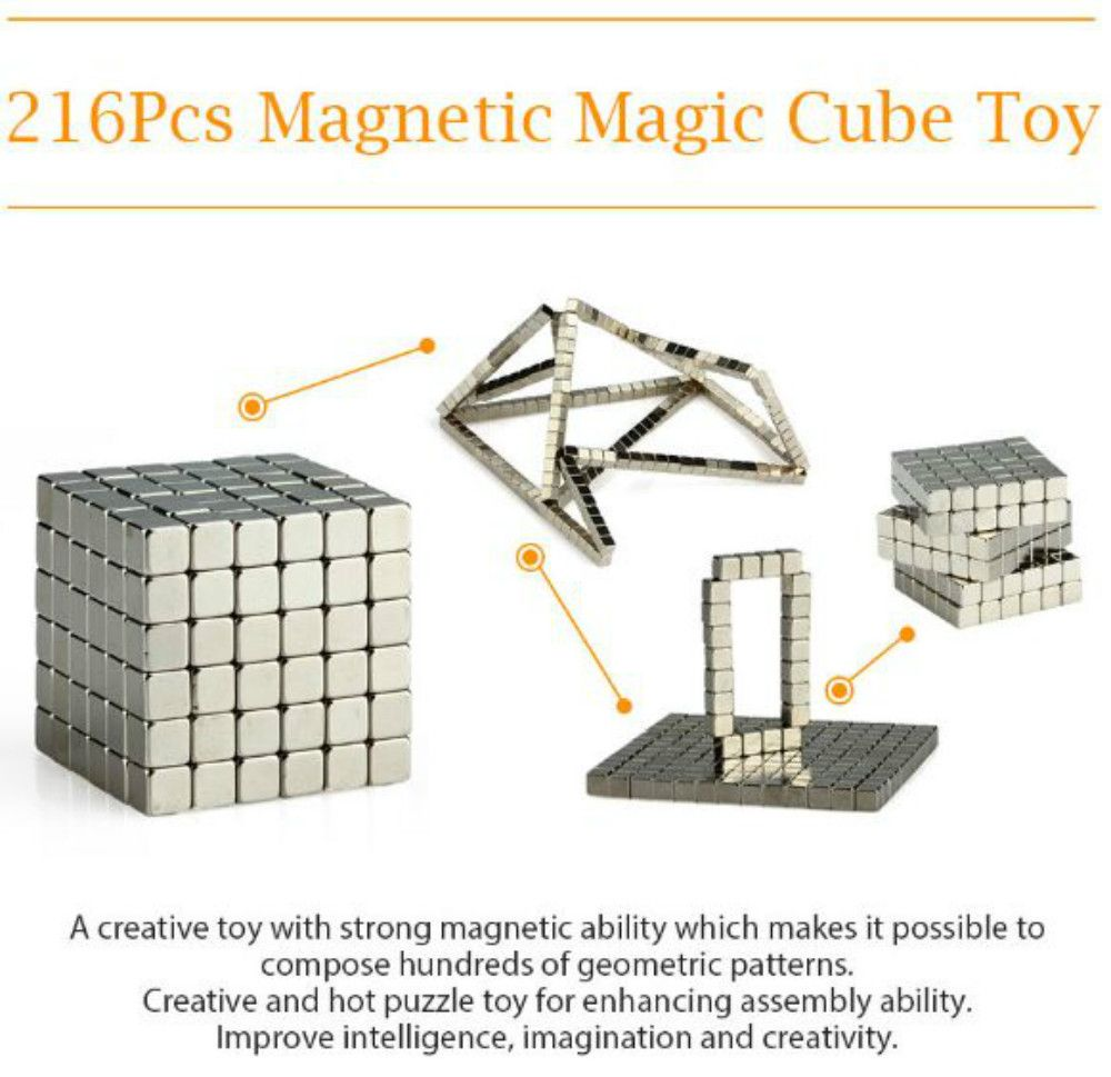 5mm 216pcs magnetic balls