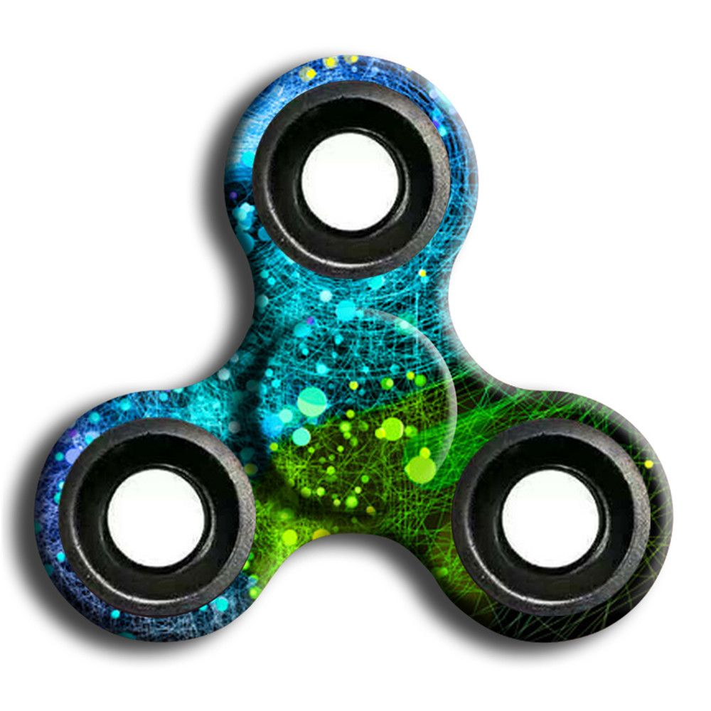 Stress Relief Toy Camouflage Finger Spinner