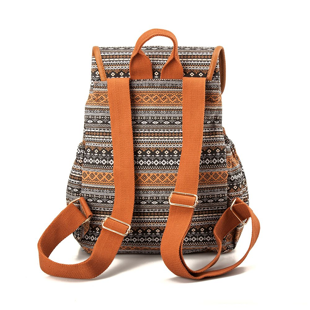 Canvas Backpack for Women & Girls Casual Book Bag Sports Daypack