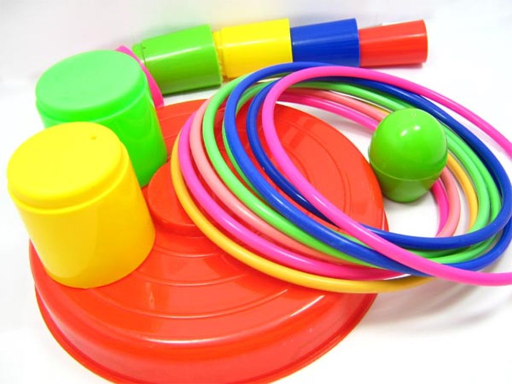 Children Pitch Circle Ring Exercise Educational Toys