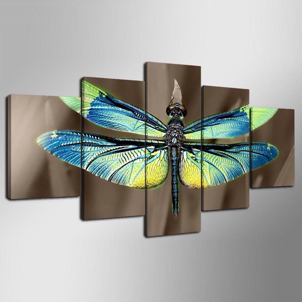 YSDAFEN 5 Panels Home Wall Decor Canvas Picture Art HD Print For Living Room