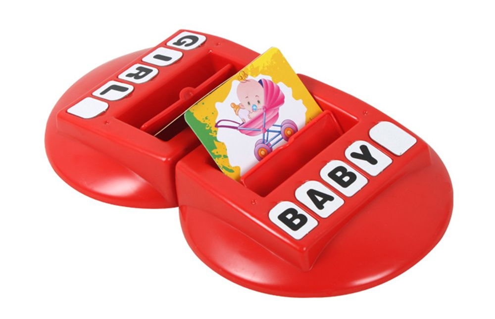 Children Words Learning Machine with English Word Memory Parent-child Interactive Toys