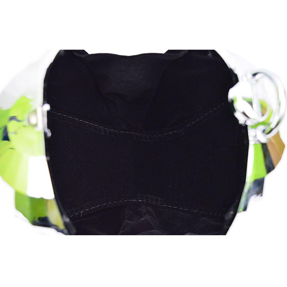 Flow style portable ball bag ladies handbag plating small round Dinner Bag