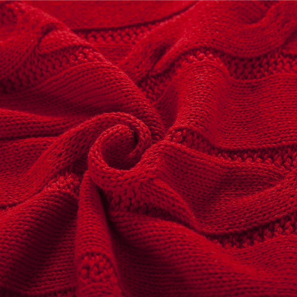 New Products all Cotton Knitting Yarn Leisure Blanket