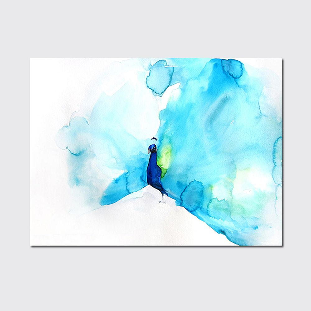 QiaoJiaHuaYuan No Frame Canvas Nordic Living Room Simple Decorative Painting