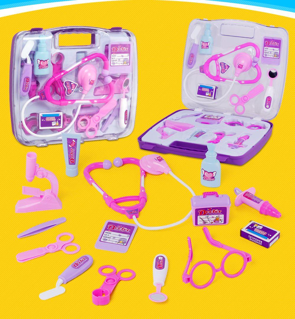 7735B Children Emulation Box Play Doctors Medicine Toys