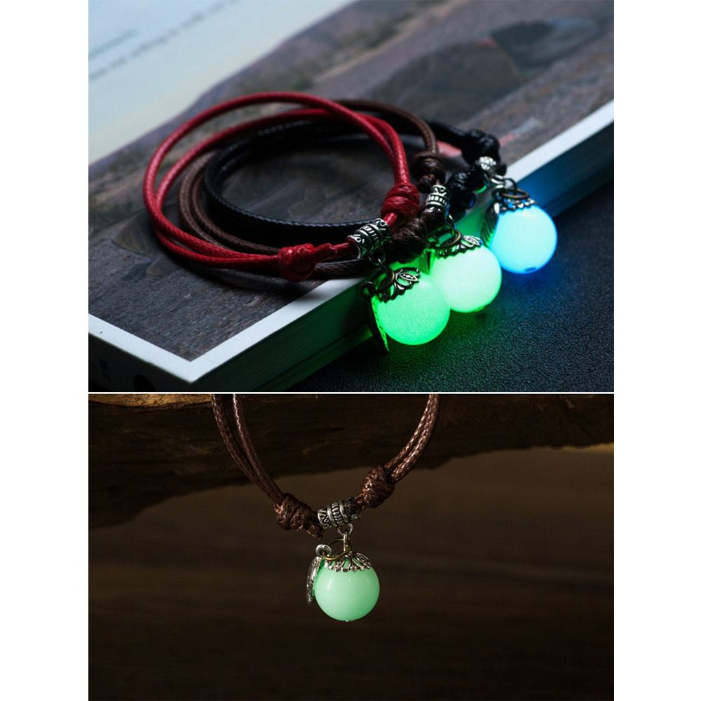 Women Ankle Chain Vintage All Matched Luminous Fashion Accessory YMJL-coffe