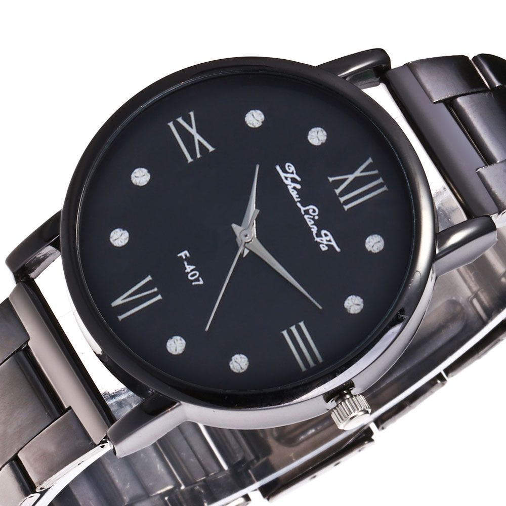 ZhouLianFa New Sports Luxury Trend Black Steel Quartz Watch