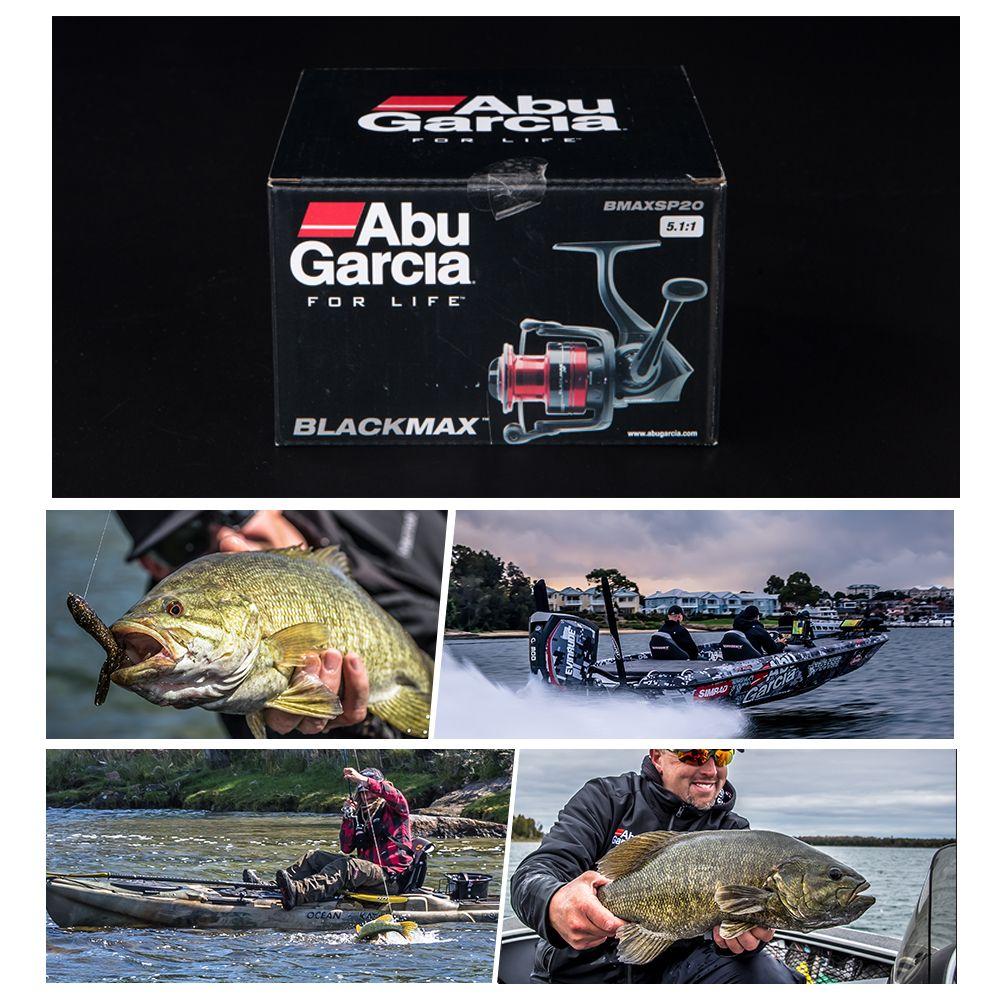 Abu Garcia BLACK MAX 40 High Value 3+1BB 14lb Carbon Fiber Max Drag Spinning Fishing Reel