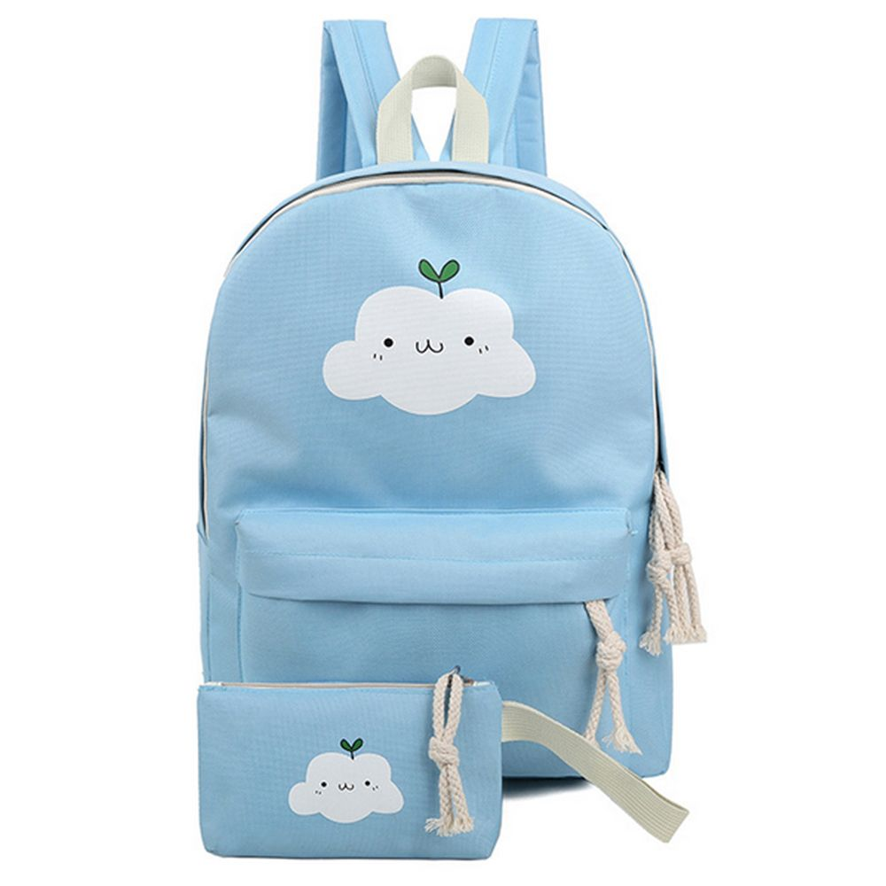 Women's Backpack Fresh Style Preppy All Match Canvas Bag