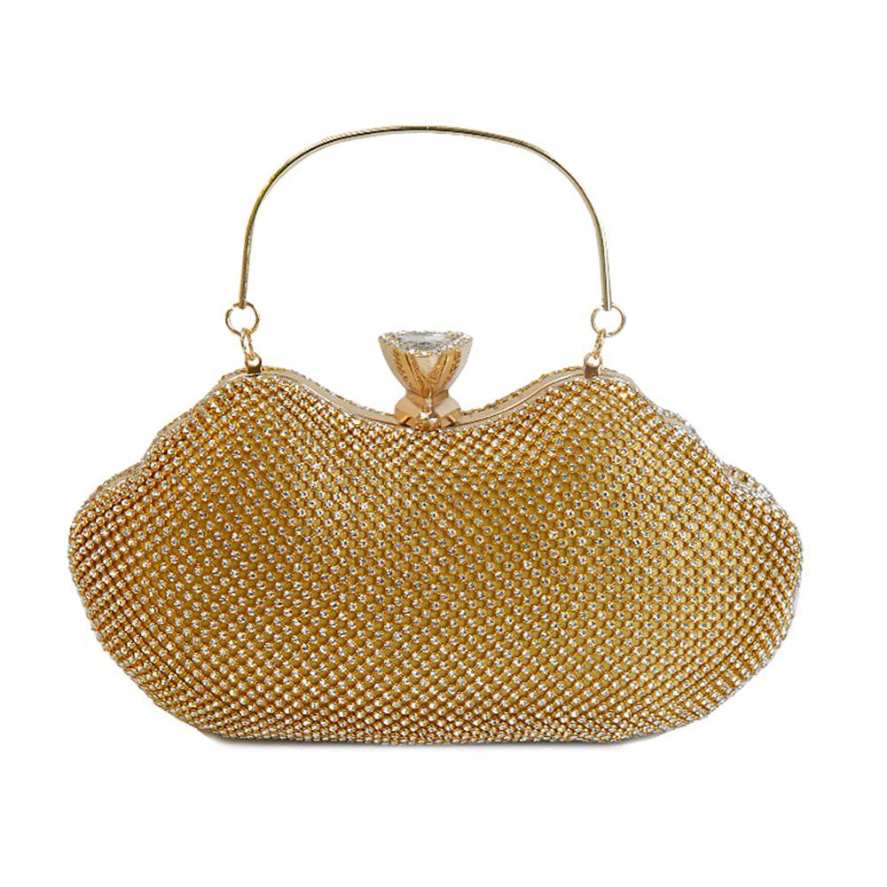 Ladies fashion Rhinestone high-grade evening bag hand bag