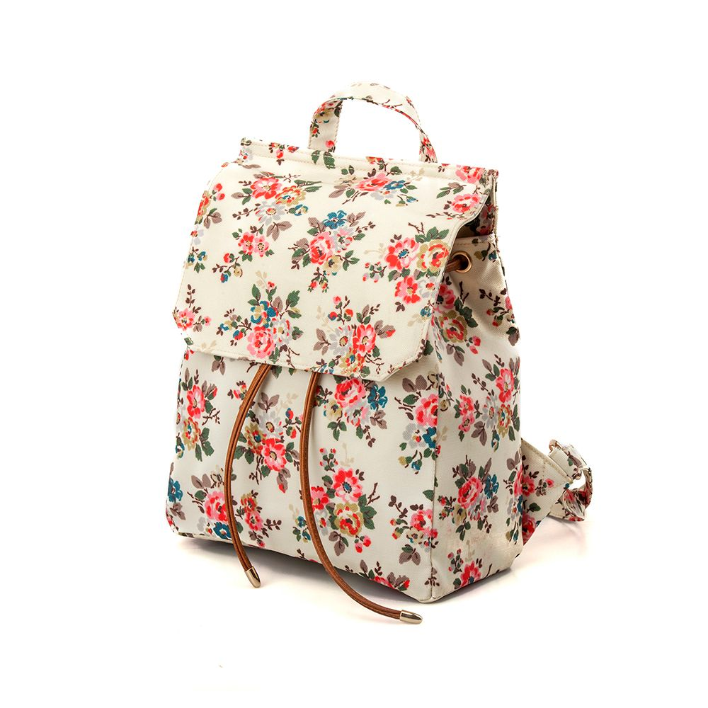 Waterproof Backpack for Women Floral Girls School Backpack