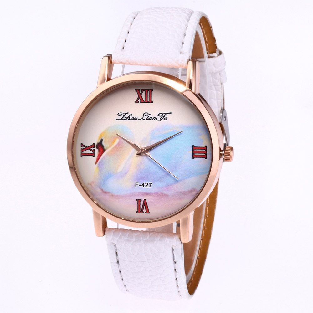 ZhouLianFa New Trend of Business Casual Lychee Quartz Watch