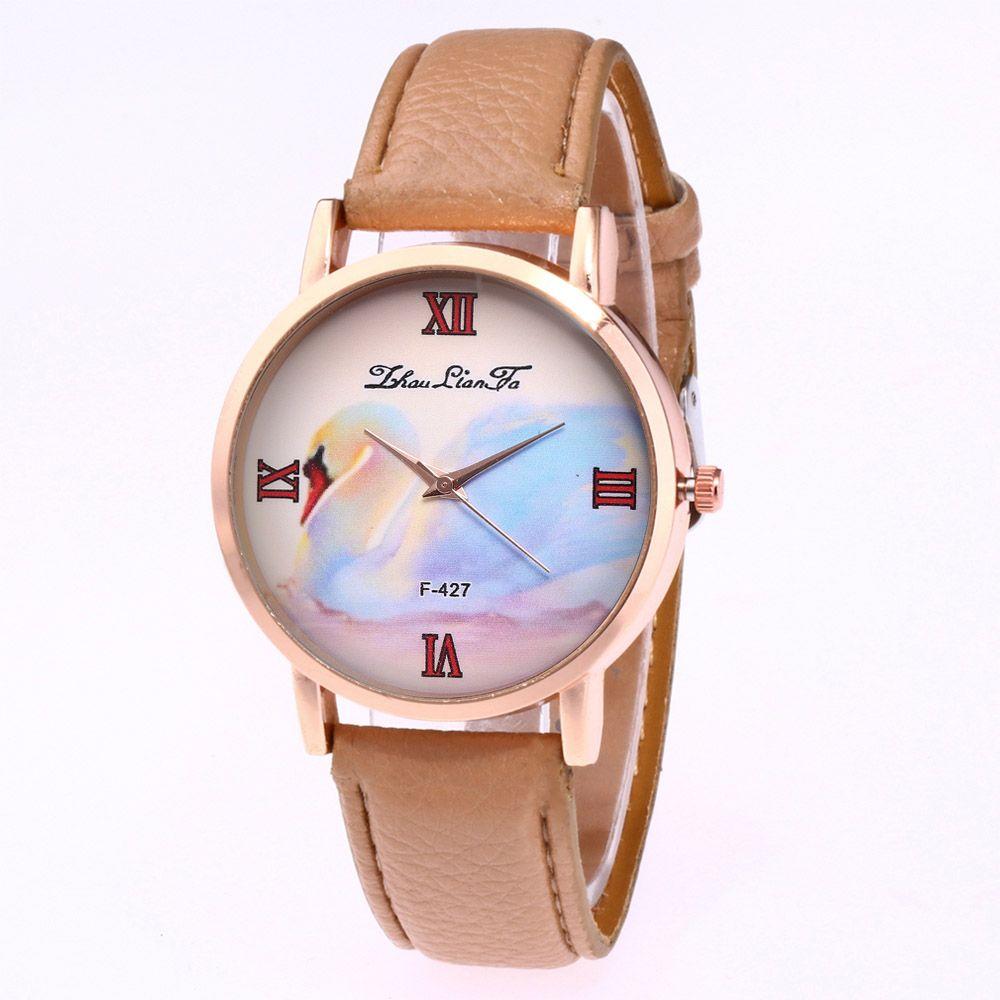 ZhouLianFa New Trend of Business Casual Lychee Quartz Watch