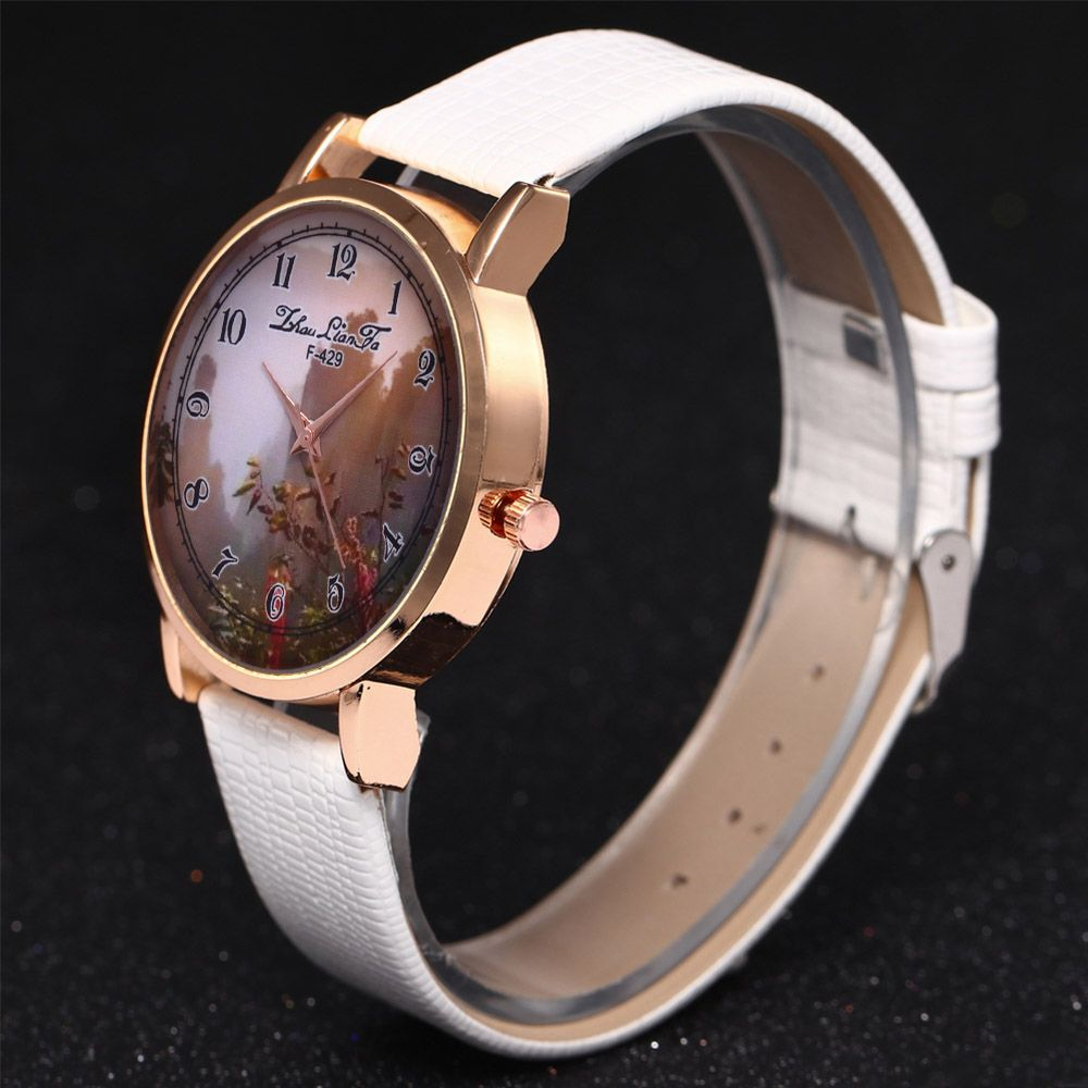 ZhouLianFa New Trend of Sports Crocodile Pattern Quartz Lady Watch