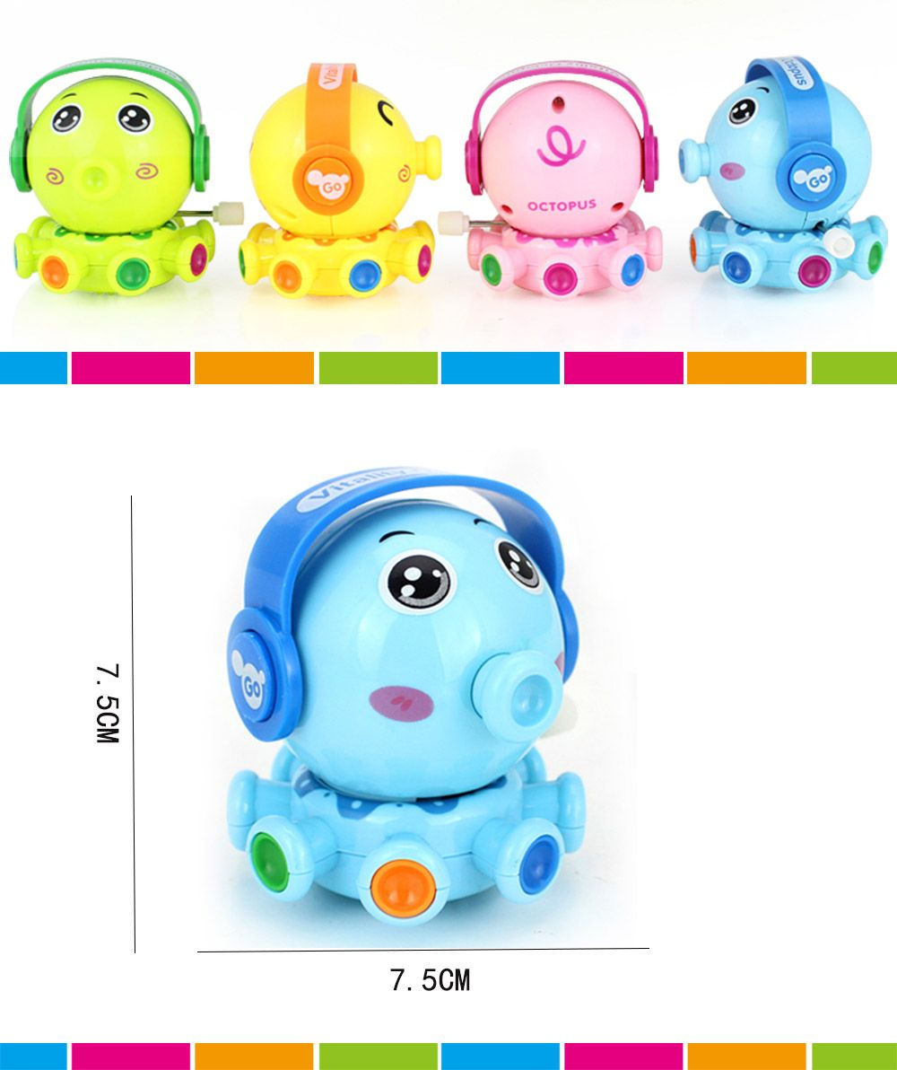 Wind Up Small Toys Interest Funny Octopus