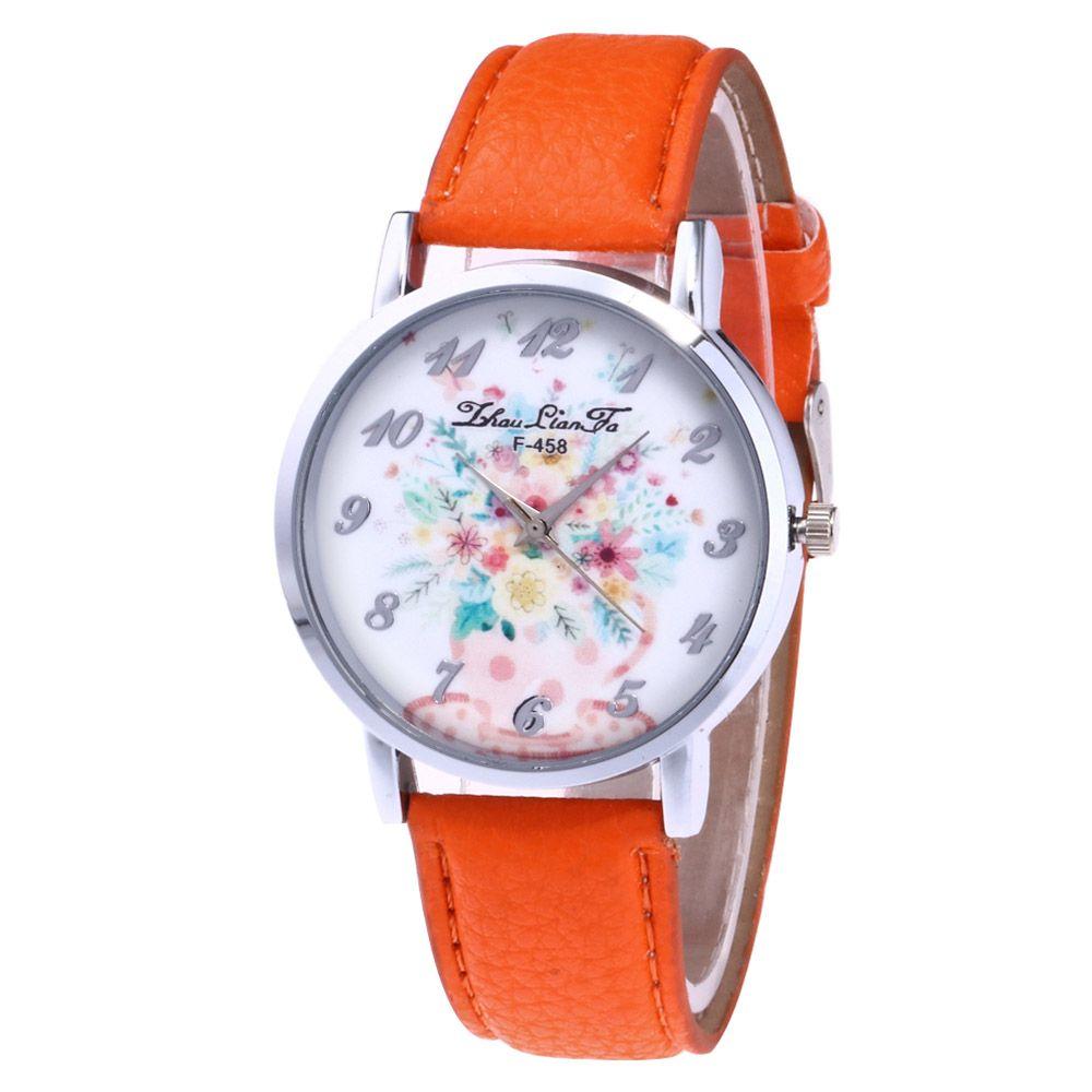 ZhouLianFa New Outdoor Trendy Fashion Silver Lychee Quartz Watch