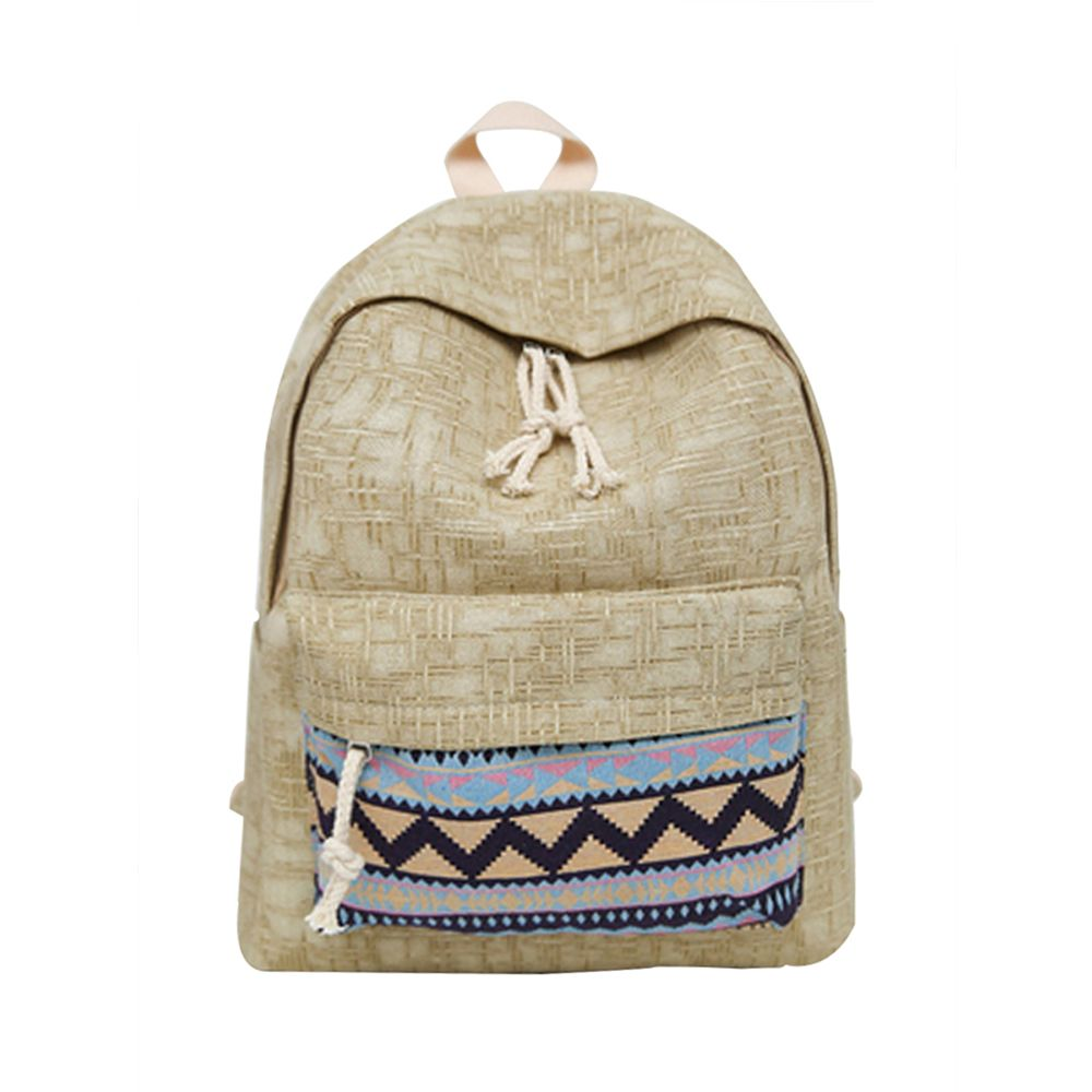 Women's Backpack Ethnic Style Patchwork Faddish All Match Bag