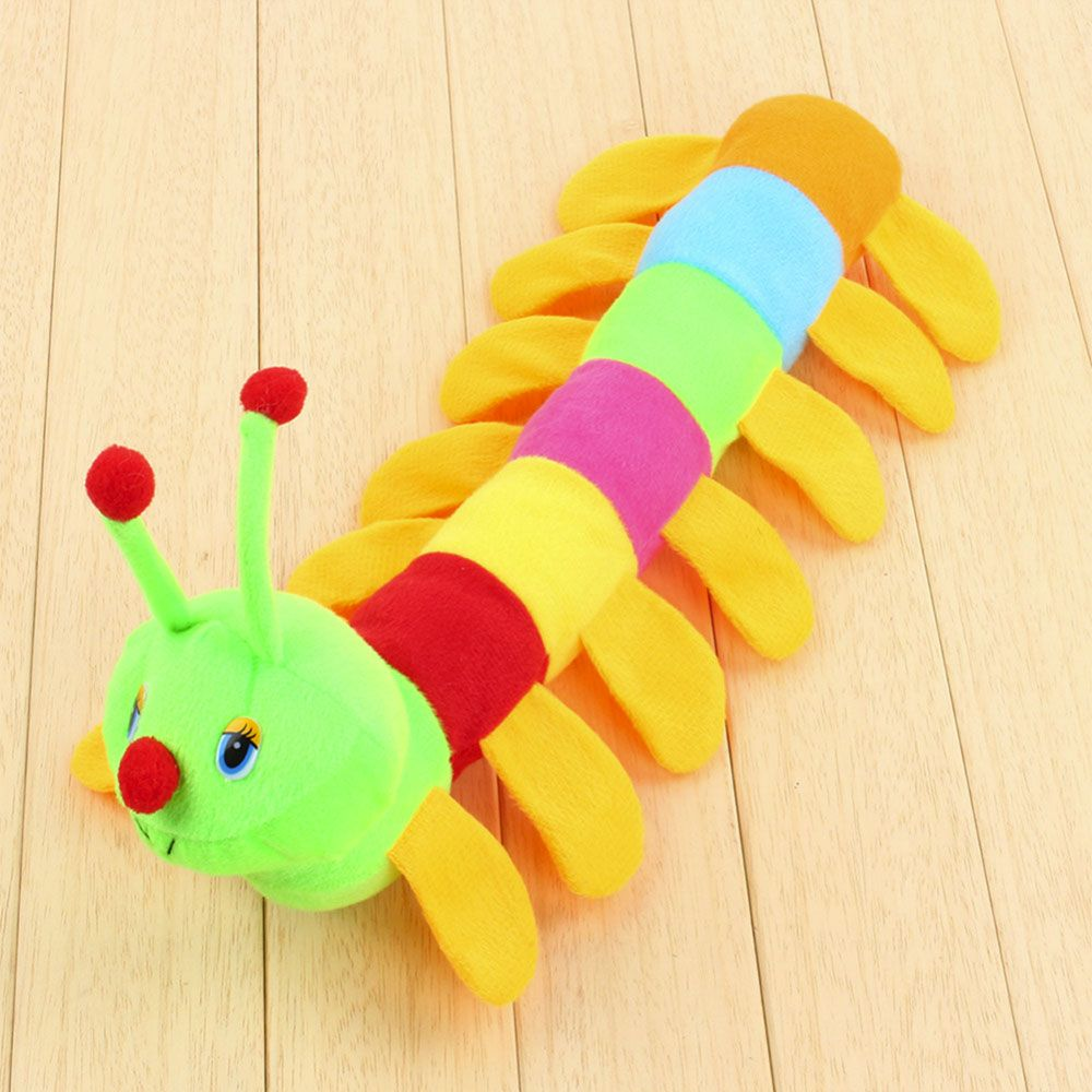 Atongm colourful caterpillar plush toys