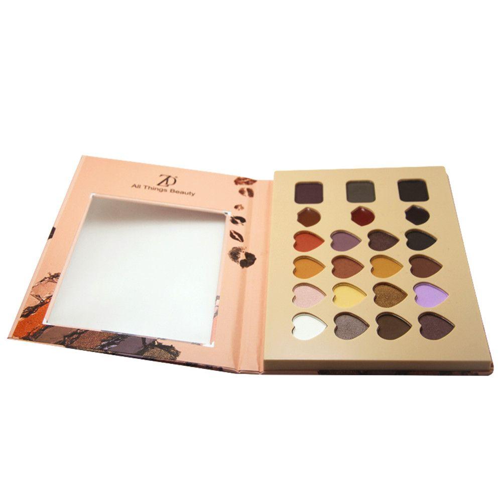ZD F2082 Makeup Palette 16 Colors Eyeshadow 3 Colors Lip Gloss 3 Colors Eyebrow Powder Palettes 1PC