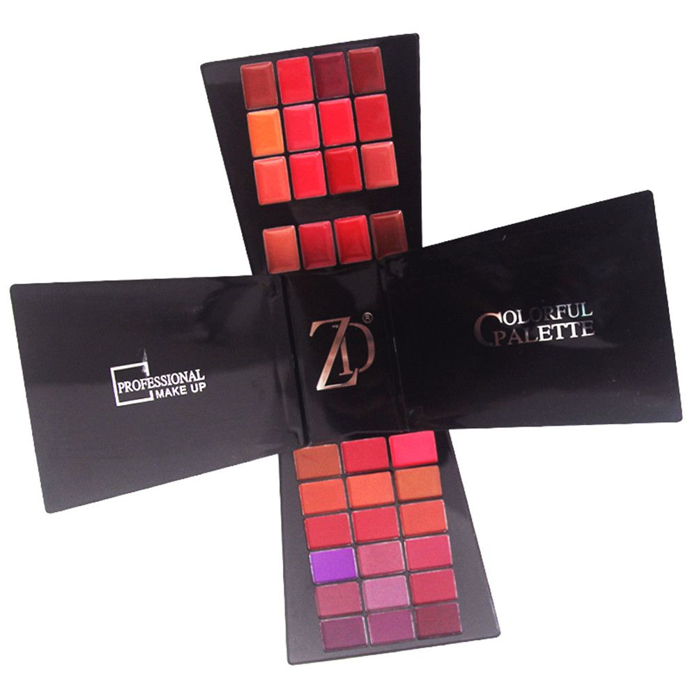 ZD F2061 132 Colors Eyeshadow Blusher Lipstick Foundation Makeup Palette With Brushes 1pc