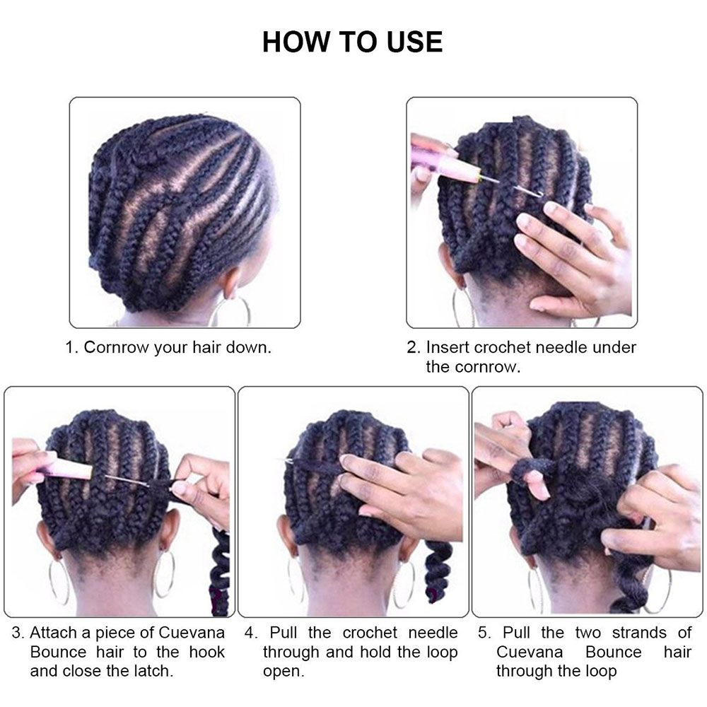 5pcs 4 Tone Ombre Jumbo Braiding Hair Extensions 24 inch Crochet Braids High Temperature Kanekalon Synthetic Fiber Twist with Free Gift