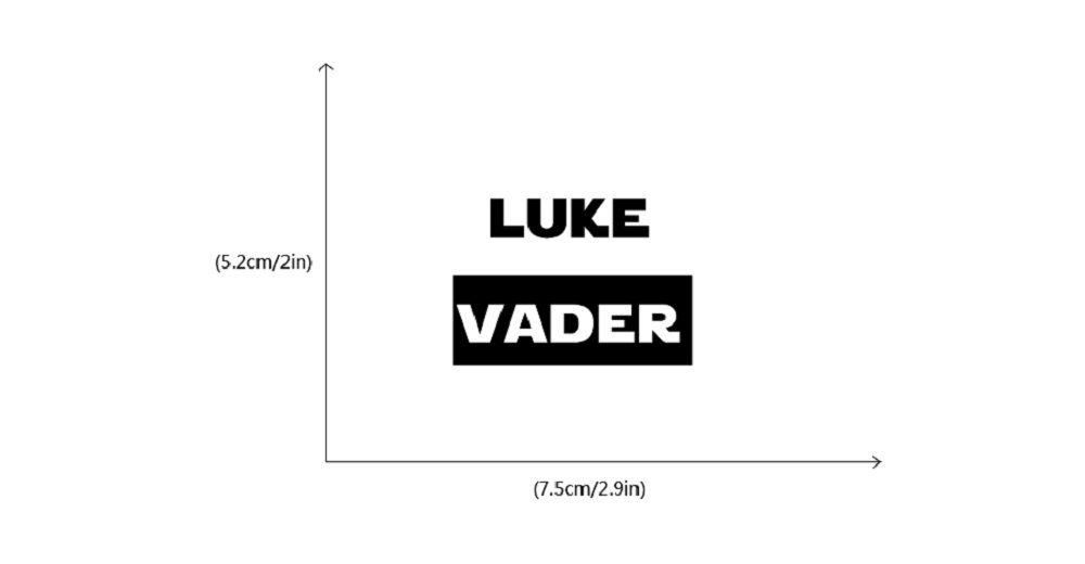 Famous Words Star Wars Switch Sticker Cartoon Vinyl Wall Stickers Home Decor