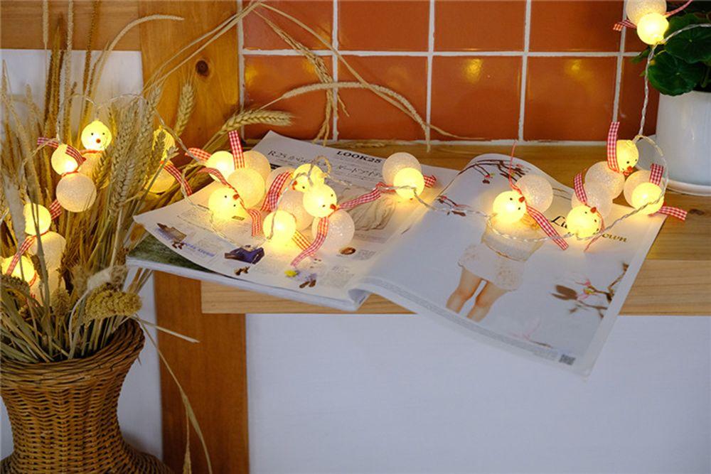 BRELONG LED Christmas  Lamp String Christmas Decoration -1m10led
