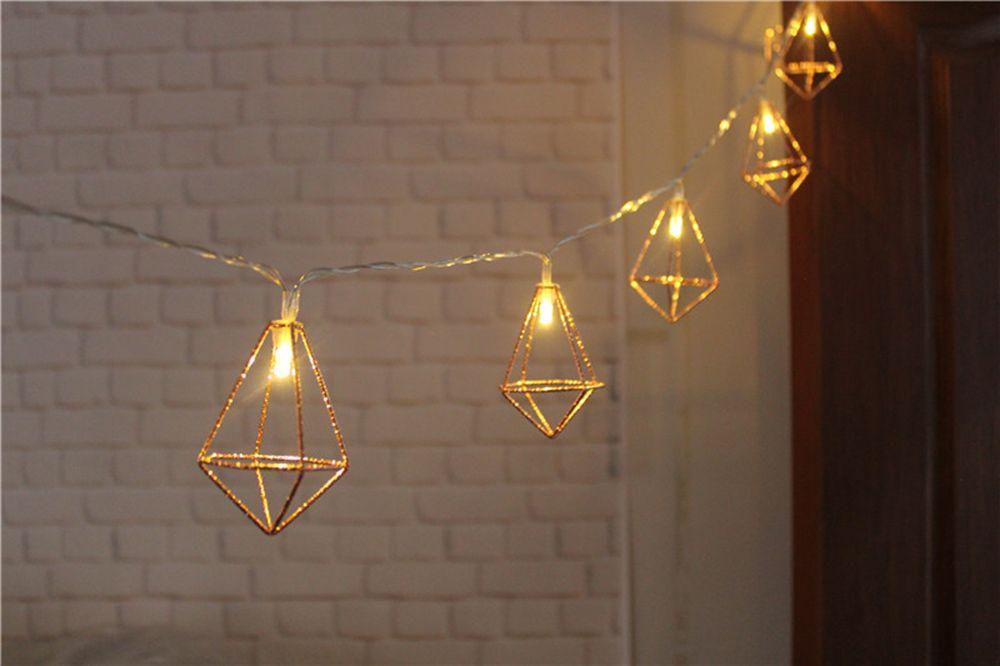 BRELONG LED Diamond Lamp String Christmas Decoration -1.5m10led