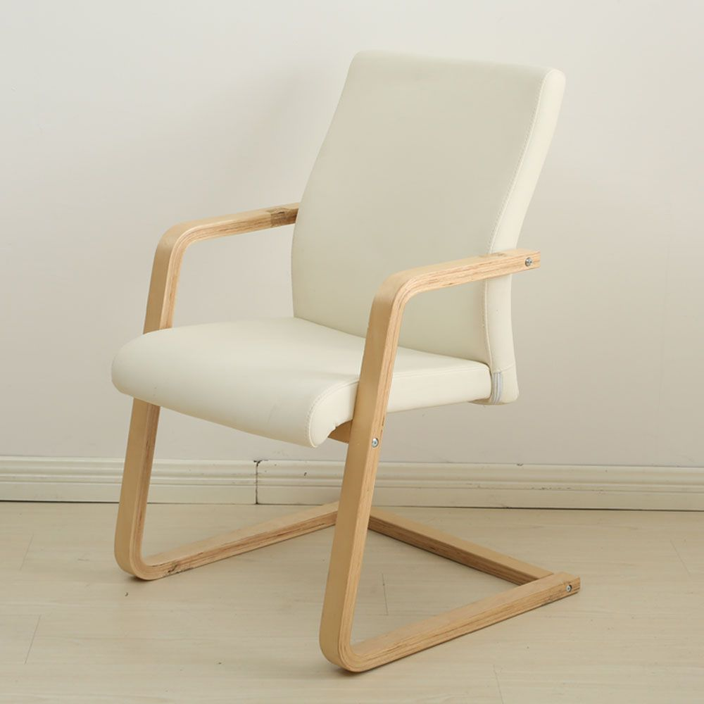 Furniture Leather Chair Comfortable Desk Chair With Arms