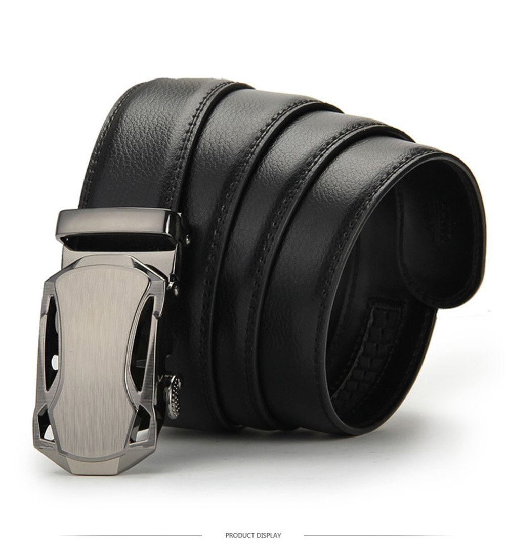 Men's Belt Buckle Belt Belt Belt Automatic Business BY912