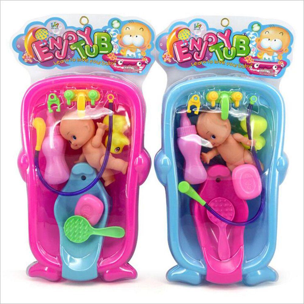 Cognitive Bathtub Floating Toy Bathroom Game Play Set Early Educational Newborn Gift Baby Bath Toys