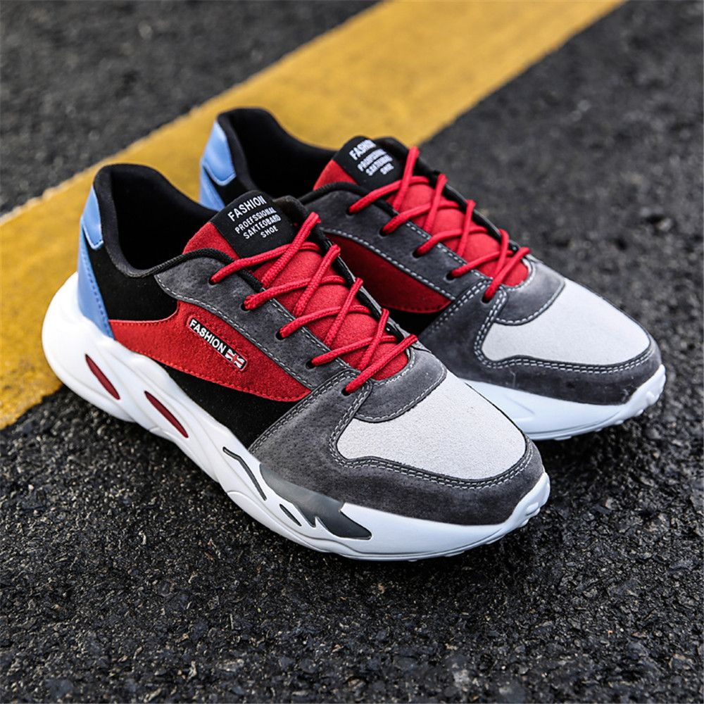 Men's Autumn Outdoor Breathable Leisure Comfort High Help Hiking Sneakers 39-44